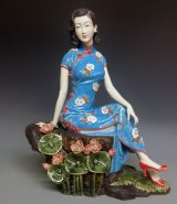 Limited Masterpiece Oriental Chinese Porcelain Dolls